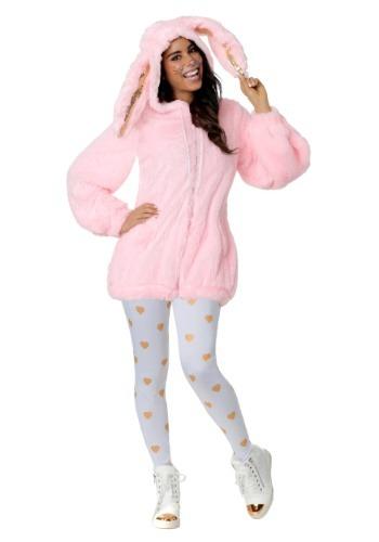 【ポイント最大29倍●お買い物マラソン限定!エントリー】大きいサイズ Womens Fuzzy Pink Bunny コスチューム ハロウィン レディース コスプレ 衣装 女性 仮装 女性用 イベント パーティ ハロウィーン 学芸会