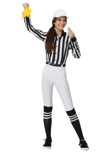 Women's Referee コスチューム クリスマス ハロウィン レディース コスプレ 衣装 女性 仮装 女性用 イベント パーティ ハロウィーン 学芸会