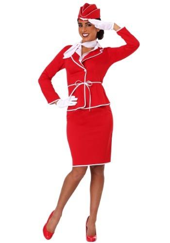 【ポイント最大29倍●お買い物マラソン限定!エントリー】Womens First Class Flight Attendant コスチューム ハロウィン レディース コスプレ 衣装 女性 仮装 女性用 イベント パーティ ハロウィーン 学芸会