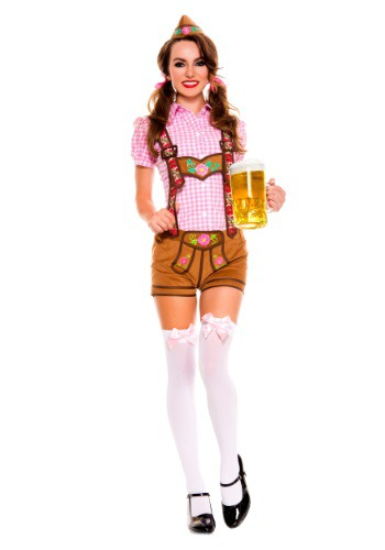 【ポイント最大29倍●お買い物マラソン限定!エントリー】Women's Lederhosen Beer Babe コスチューム ハロウィン レディース コスプレ 衣装 女性 仮装 女性用 イベント パーティ ハロウィーン 学芸会