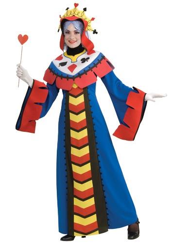 【ポイント最大29倍●お買い物マラソン限定!エントリー】Queen of Hearts Playing Card コスチューム ハロウィン レディース コスプレ 衣装 女性 仮装 女性用 イベント パーティ ハロウィーン 学芸会