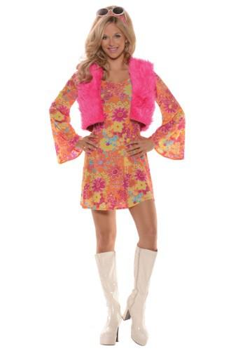 【ポイント最大29倍●お買い物マラソン限定!エントリー】Women's Pretty in Pink 70's コスチューム ハロウィン レディース コスプレ 衣装 女性 仮装 女性用 イベント パーティ ハロウィーン 学芸会