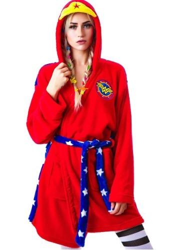 【ポイント最大29倍●お買い物マラソン限定!エントリー】Wonder Woman フード ローブ ハロウィン レディース コスプレ 衣装 女性 仮装 女性用 イベント パーティ ハロウィーン 学芸会
