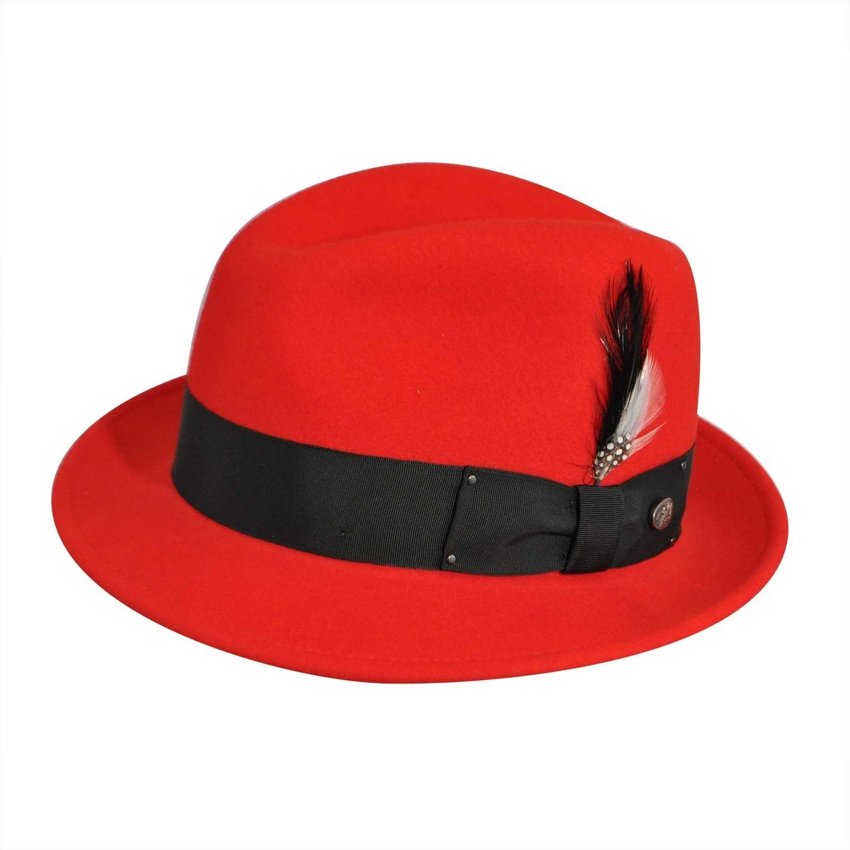Bailey of Hollywood Tino LiteFeltR Fedora RED フェドラハット 帽子 RED