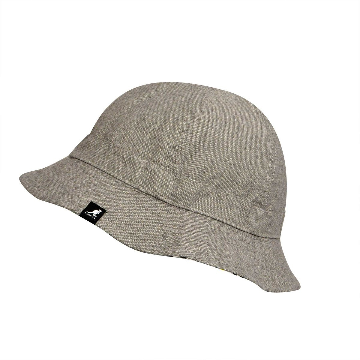 Kangol カンゴール Construct Reversible Casual Argent バケットハット 帽子 Argent