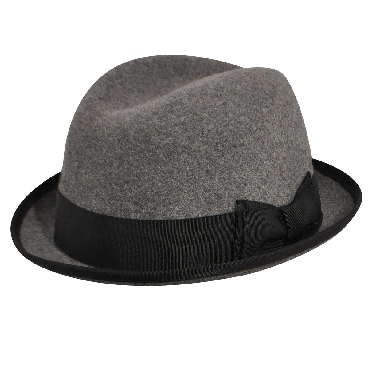 Bailey of Hollywood Basil LiteFeltR Fedora PEWTER フェドラハット 帽子 PEWTER