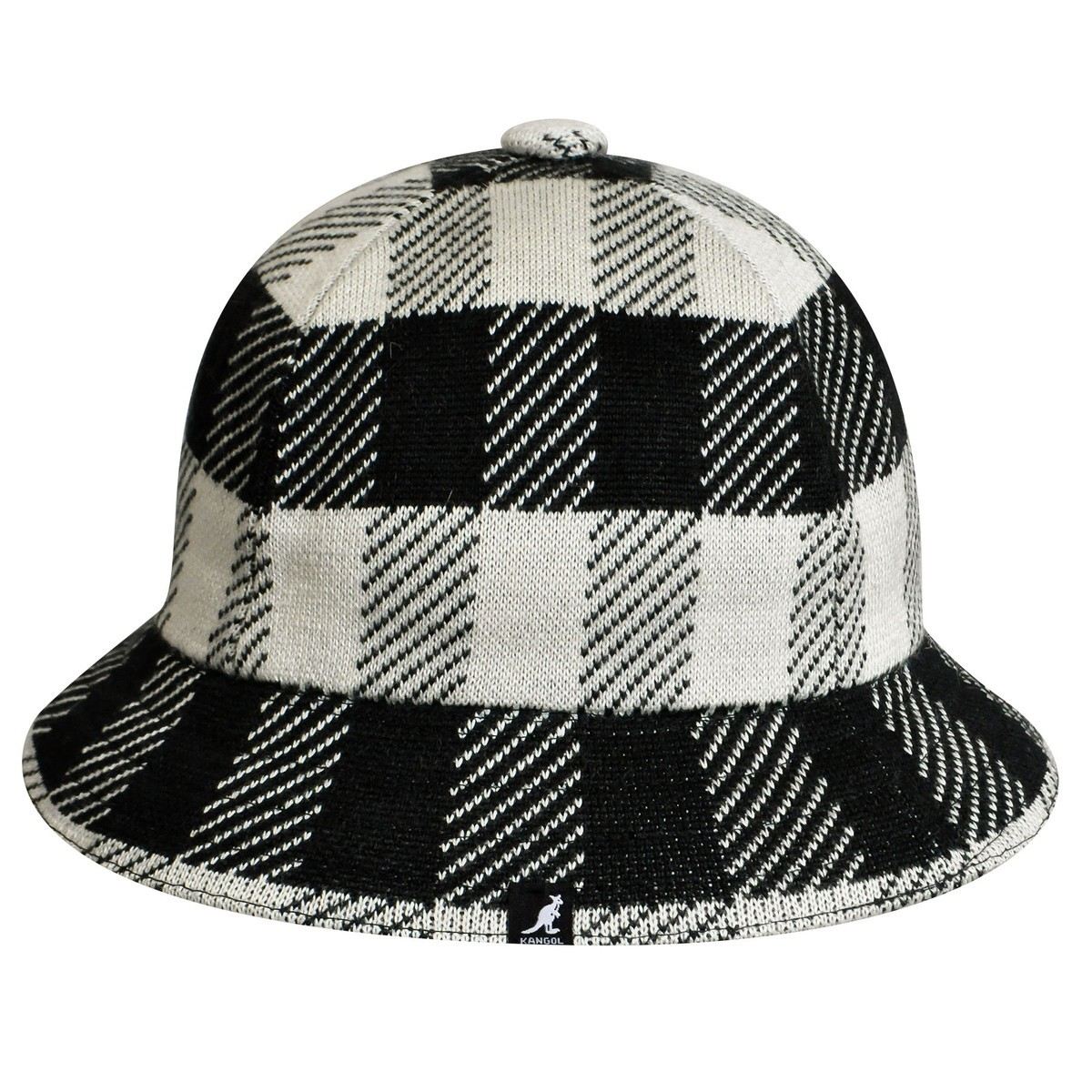 Kangol カンゴール Frontier Casual Black Off White バケットハット 帽子 Black Off White