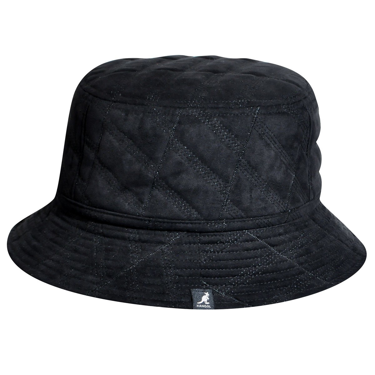 Kangol カンゴール Quilted Bucket BLACK バケットハット 帽子 BLACK