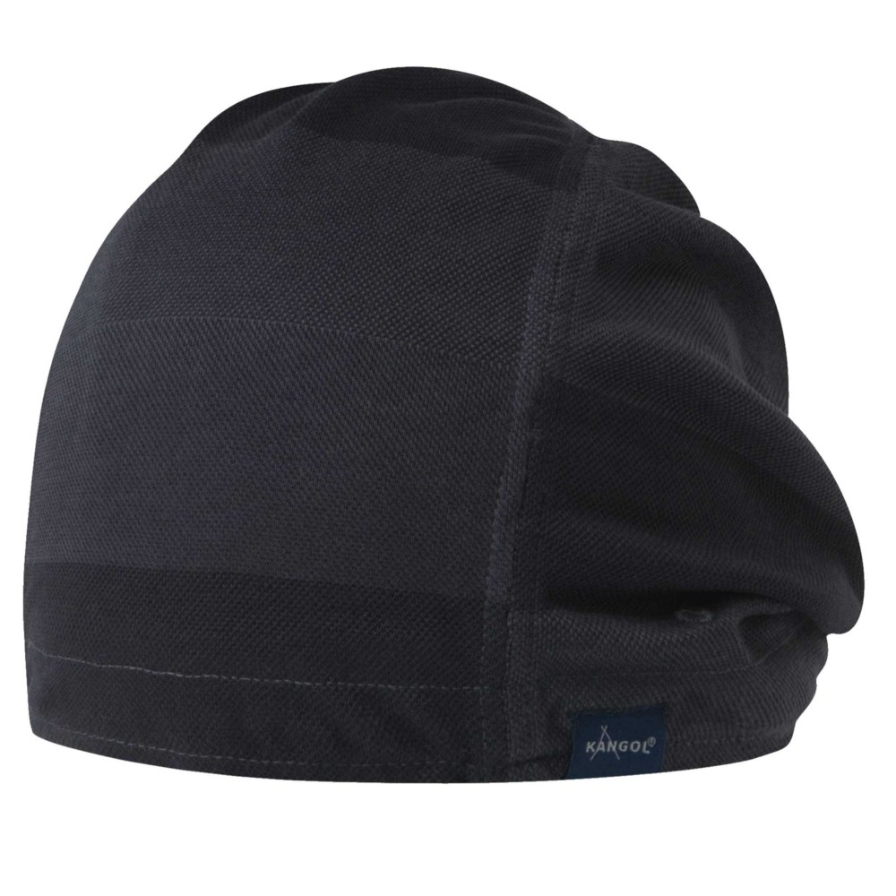 Kangol カンゴール Japanese Pique Pull-On Navy Beanies & Pull Ons 帽子 Navy
