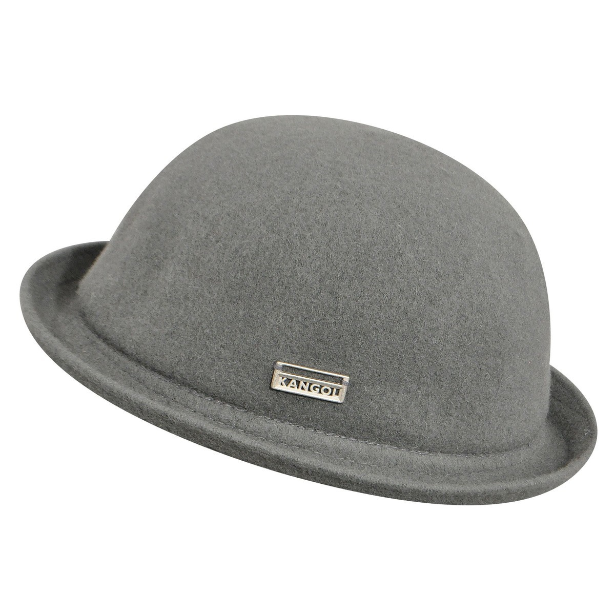 Kangol カンゴール Wool Bombin Slate Grey Bowler & Derby Hats 帽子 Slate Grey