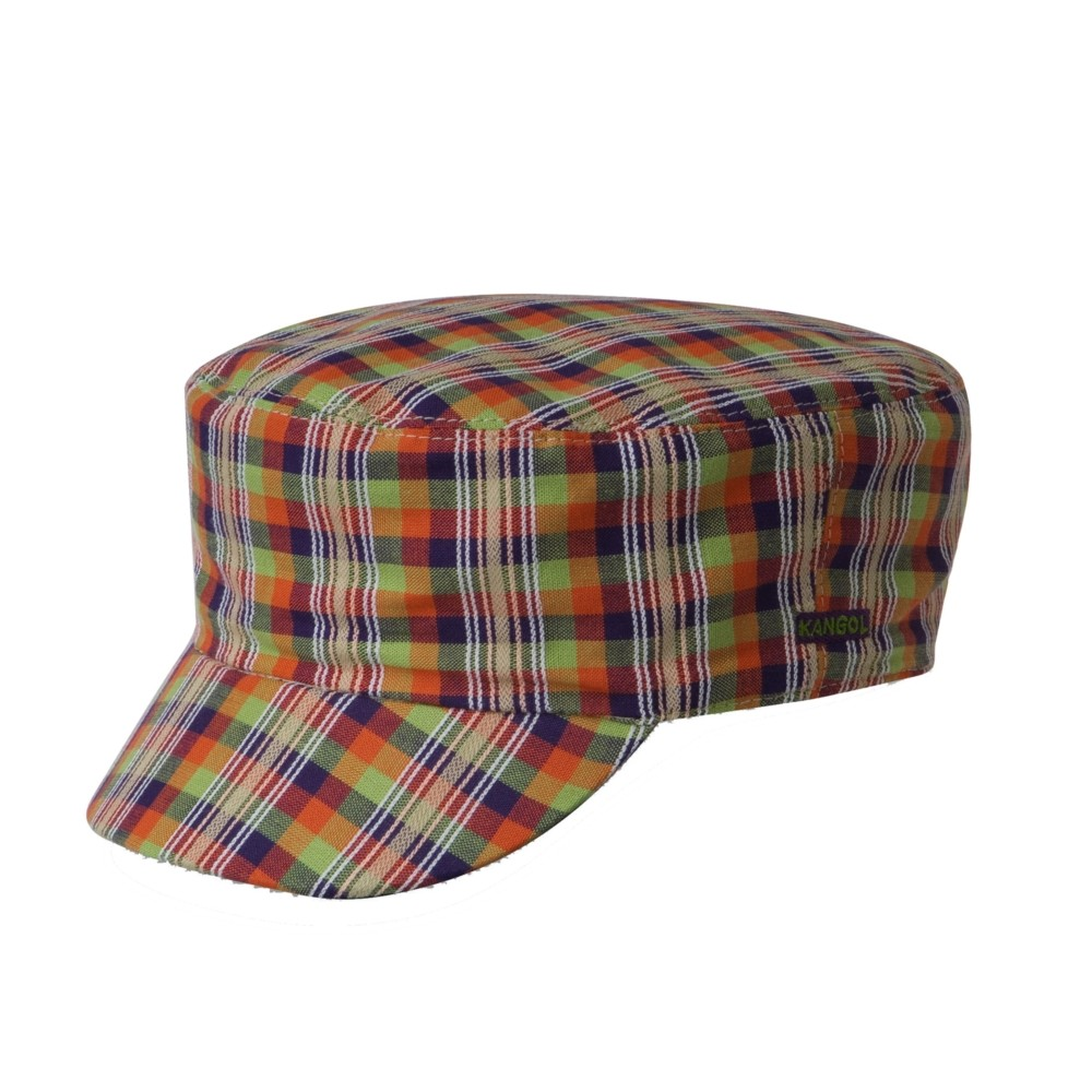 Kangol カンゴール Neo Check Mau Cap Check Stripe Greek フィッシャーマンハット Caps 帽子 Check Stripe