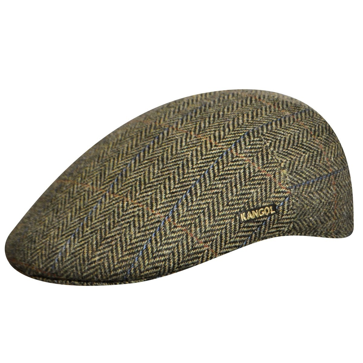 Kangol カンゴール Tweed Milano Cap Herringbone Check Ivy Caps & Flat Caps 帽子 Herringbone Check