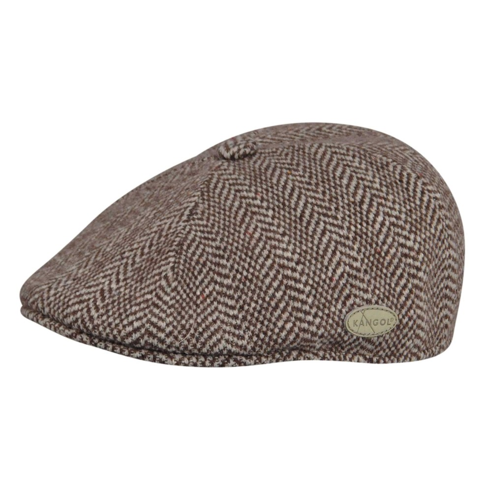 Kangol カンゴール Herringbone 507 Brown Ivy Caps & Flat Caps 帽子 Brown