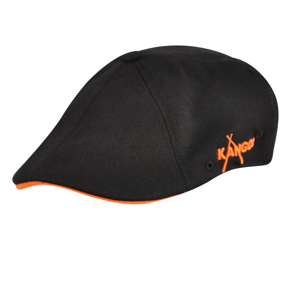 Kangol カンゴール Championship Baseball 504 BLACK ORANGE Ivy Caps & Flat Caps 帽子 BLACK ORANGE