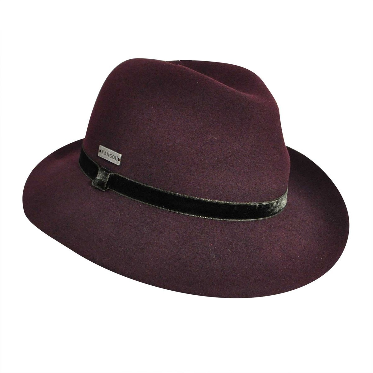 Kangol カンゴール LiteFeltR Vaulted Trilby MULBERRY Trilby 帽子 MULBERRY