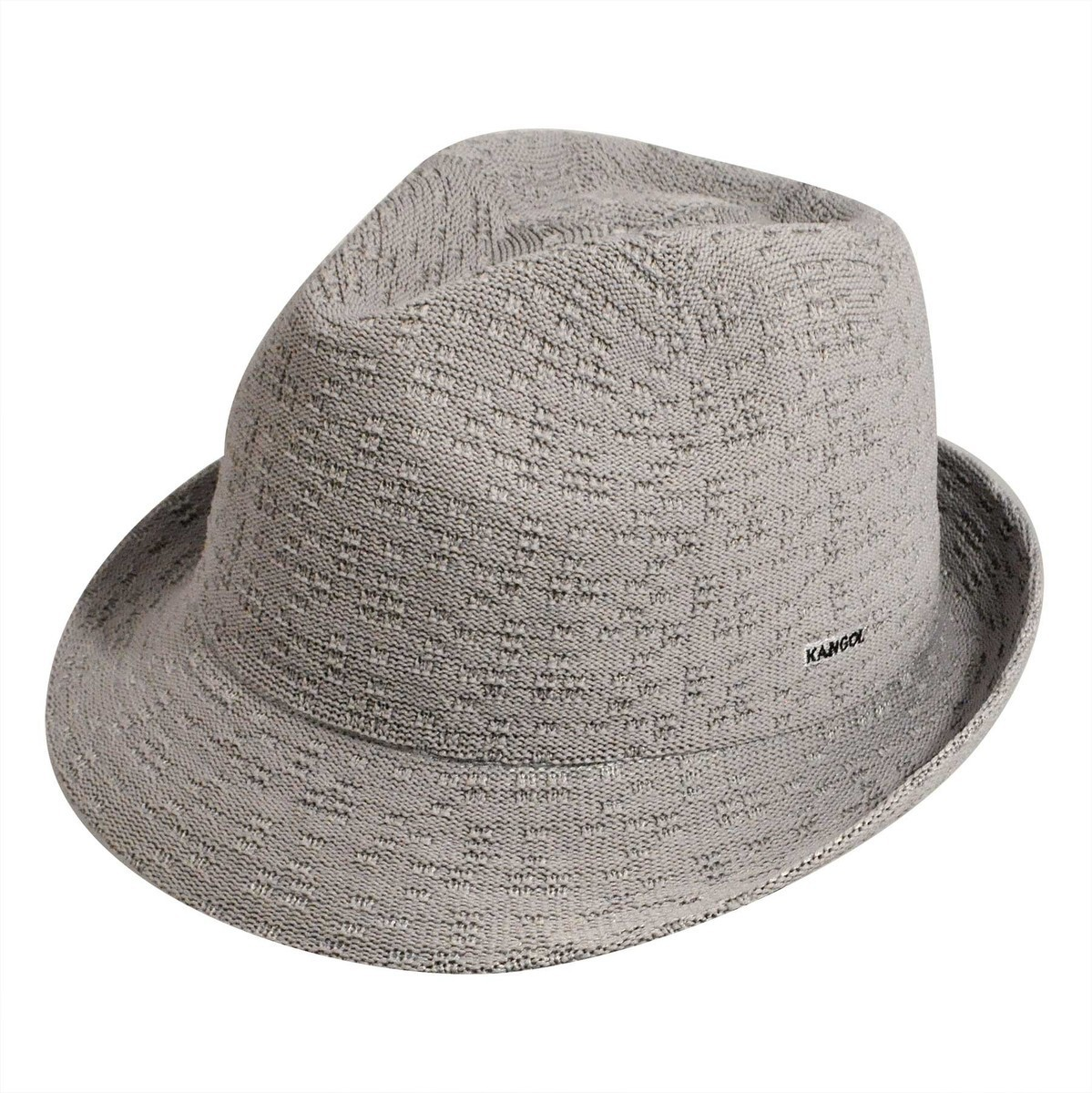 Kangol カンゴール Braille Tex Arnold Grey Trilby 帽子 Grey