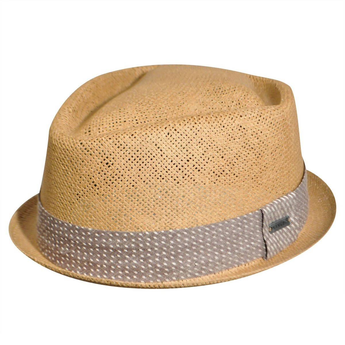 Kangol カンゴール Inset Player Tan Trilby 帽子 Tan