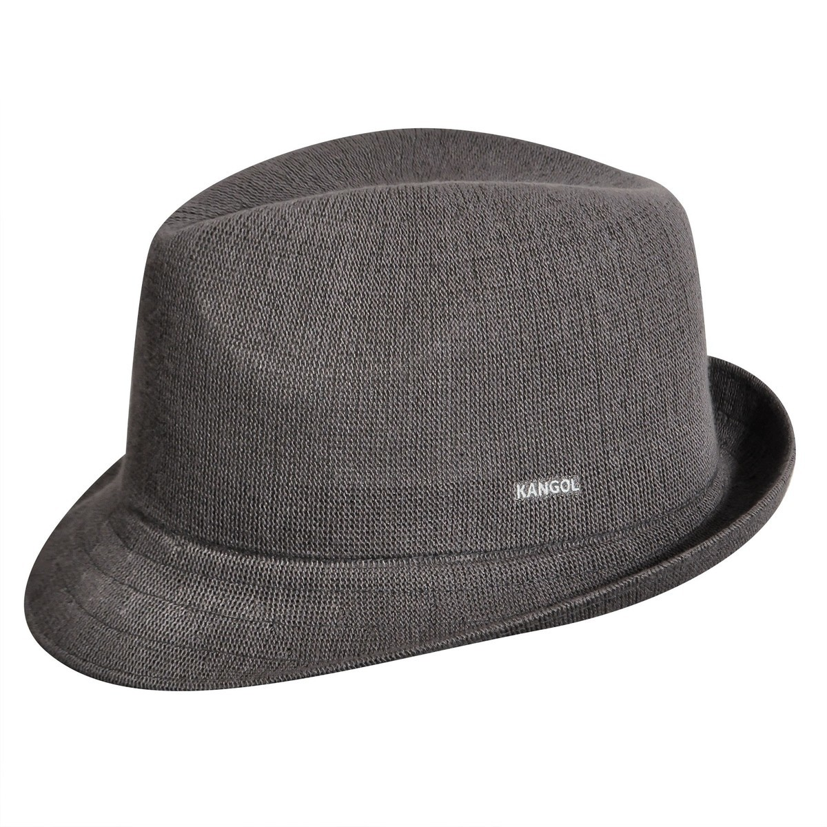 Kangol カンゴール Bamboo Arnold Trilby Charcoal Trilby 帽子 Charcoal