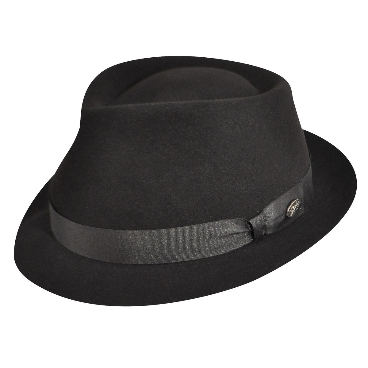 Bailey of Hollywood Duffy Trilby BLACK Trilby 帽子 BLACK