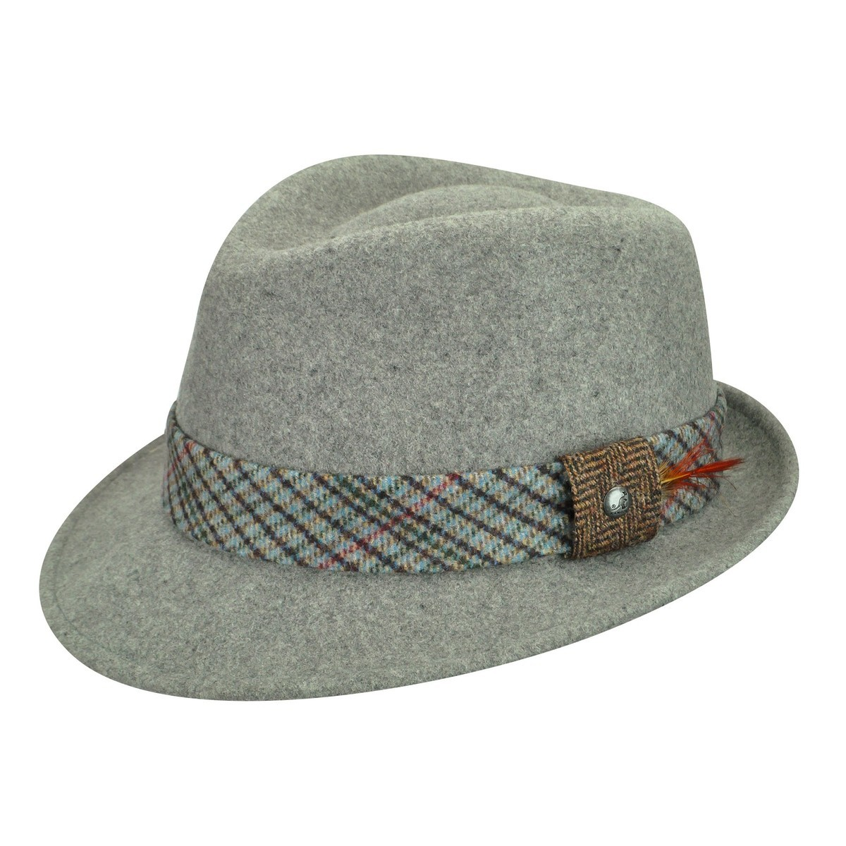 Kangol メンズ帽子 Kangol Estate Arnold Fedora Flannel