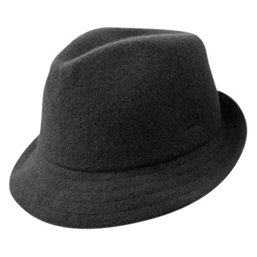 Kangol カンゴール Wool Arnold BLACK Trilby 帽子 BLACK
