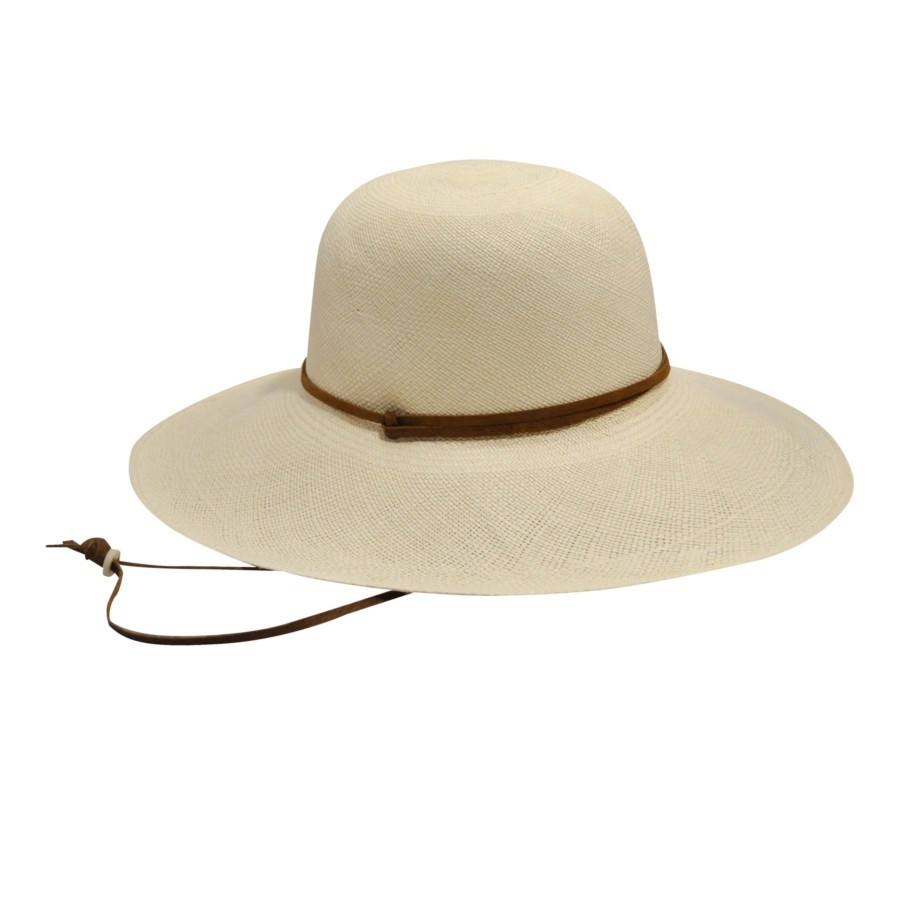 Pantropic Gaucho Panama Hat Natural Wide Brims & Floppy Hats 帽子 Natural