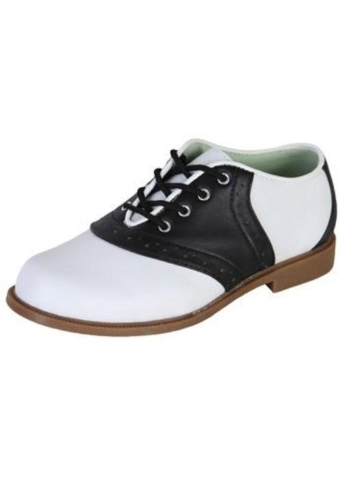 SADDLE シューズ ブーツ シューズ 靴 コスプレ コスチューム 変装 ハロウィン