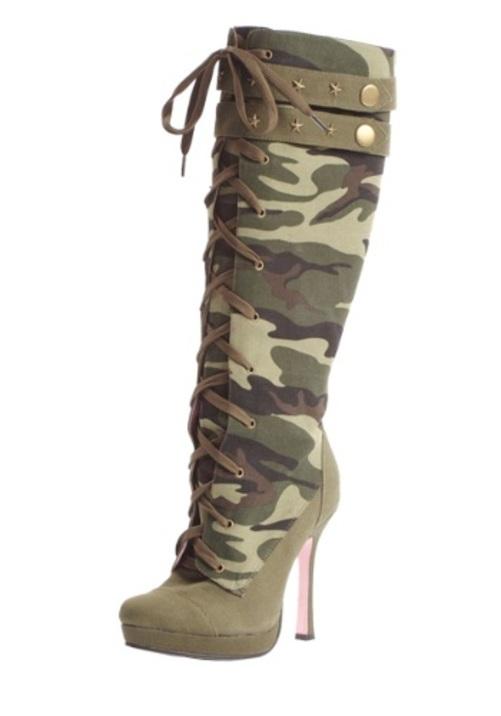 CAMO LACEUP ブーツ 靴ブーツ シューズ 靴 コスプレ コスチューム 変装 ハロウィン