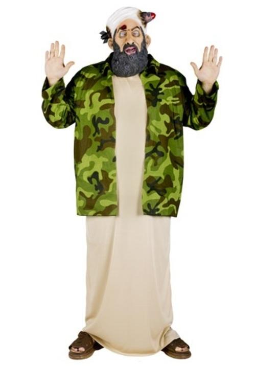オサマビンラディン テロ テロリストコスプレ コスチューム 大人用 メンズ 男性用 衣装 ドレス ワンピース 仮装 衣装 忘年会 パーティ 学園祭 文化祭 学祭