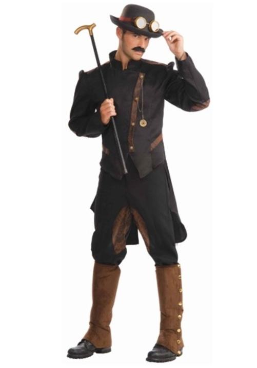 コスプレ ハロウィン STEAMPUNK GENTLEMAN 大人用 メンズ 男性用 衣装 衣装 学園祭 文化祭 コスチューム 仮装 変装
