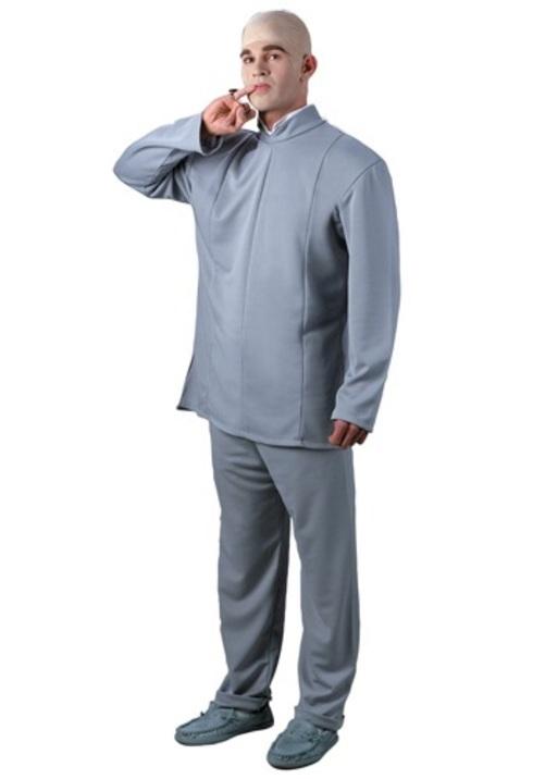 コスプレ ハロウィン DR. EVIL 大人用 メンズ 男性用 衣装 衣装 学園祭 文化祭 コスチューム 仮装 変装