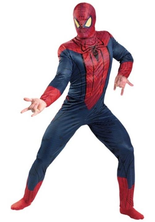 SPIDER-MAN MOVIE コスプレ コスチューム 大人用 男性用 衣装 ドレス ワンピース 仮装 衣装 忘年会 パーティ 学園祭 文化祭 学祭