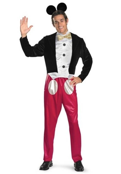コスプレ ハロウィン ミッキーマウス Mickey Mouse 大人用 メンズ 男性用 衣装 衣装 学園祭 文化祭 コスチューム 仮装 変装