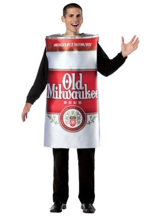 OLD MILWAUKEE ビールコスプレ コスチューム 大人用 メンズ 男性用 衣装 ドレス ワンピース 仮装 衣装 忘年会 パーティ 学園祭 文化祭 学祭