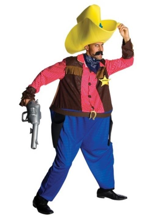 コスプレ ハロウィン BIG TEX COWBOY 大人用 男性用 衣装 衣装 学園祭 文化祭 コスチューム 仮装 変装