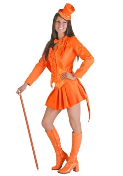 コスプレ ハロウィン セクシーオレンジタキシード スーツ ブライダル 大人用 女性用 衣装 ドレス ワンピース 衣装 学園祭 文化祭 コスチューム 仮装 変装