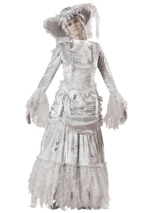 【全品P5倍】GHOSTLY LADY コスプレ コスチューム 大人用 レディス 女性用 衣装 ドレス ワンピース 仮装 衣装 忘年会 パーティ 学園祭 文化祭 学祭