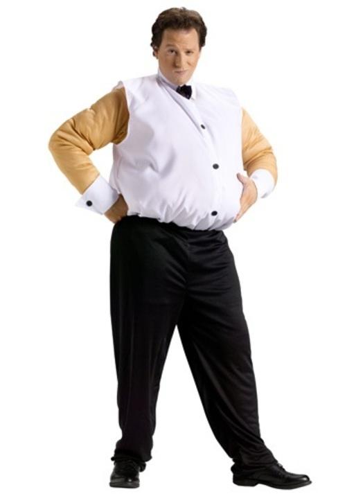 【全品P5倍】FAT STRIPPER コスプレ コスチューム 大人用 メンズ 男性用 衣装 ドレス ワンピース 仮装 衣装 忘年会 パーティ 学園祭 文化祭 学祭