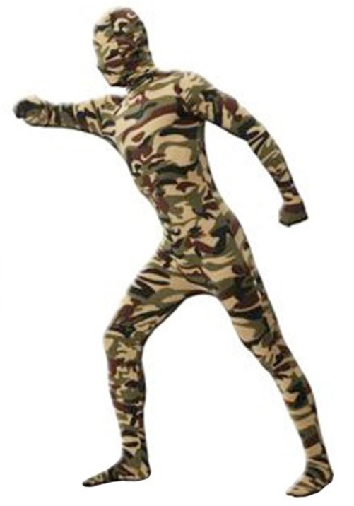 CAMO INVISIBLE MAN コスプレ コスチューム 大人用 男性用 衣装 ドレス ワンピース 仮装 衣装 忘年会 パーティ 学園祭 文化祭 学祭