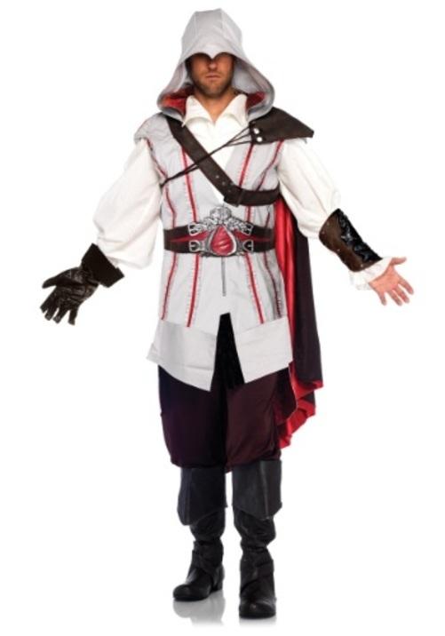 ASSASSIN'S CREED EZIO コスプレ コスチューム 大人用 男性用 衣装 ドレス ワンピース 仮装 衣装 忘年会 パーティ 学園祭 文化祭 学祭