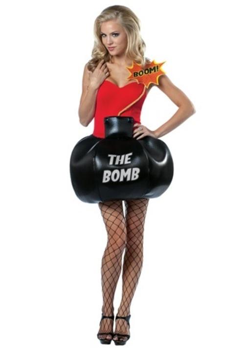 SHE'S THE BOMB コスプレ コスチューム 大人用 レディス 女性用 衣装 ドレス ワンピース 仮装 衣装 忘年会 パーティ 学園祭 文化祭 学祭