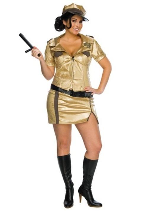 コスプレ ハロウィン セクシーDEPUTY JOHNSON 大人用 女性用 衣装 ドレス ワンピース 衣装 学園祭 文化祭 コスチューム 仮装 変装