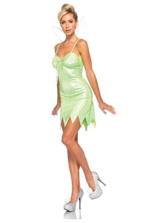 コスプレ ハロウィン NEVERLAND ティンカーベル 妖精 天使 大人用 レディス 女性用 衣装 ドレス ワンピース 衣装 学園祭 文化祭 コスチューム 仮装 変装