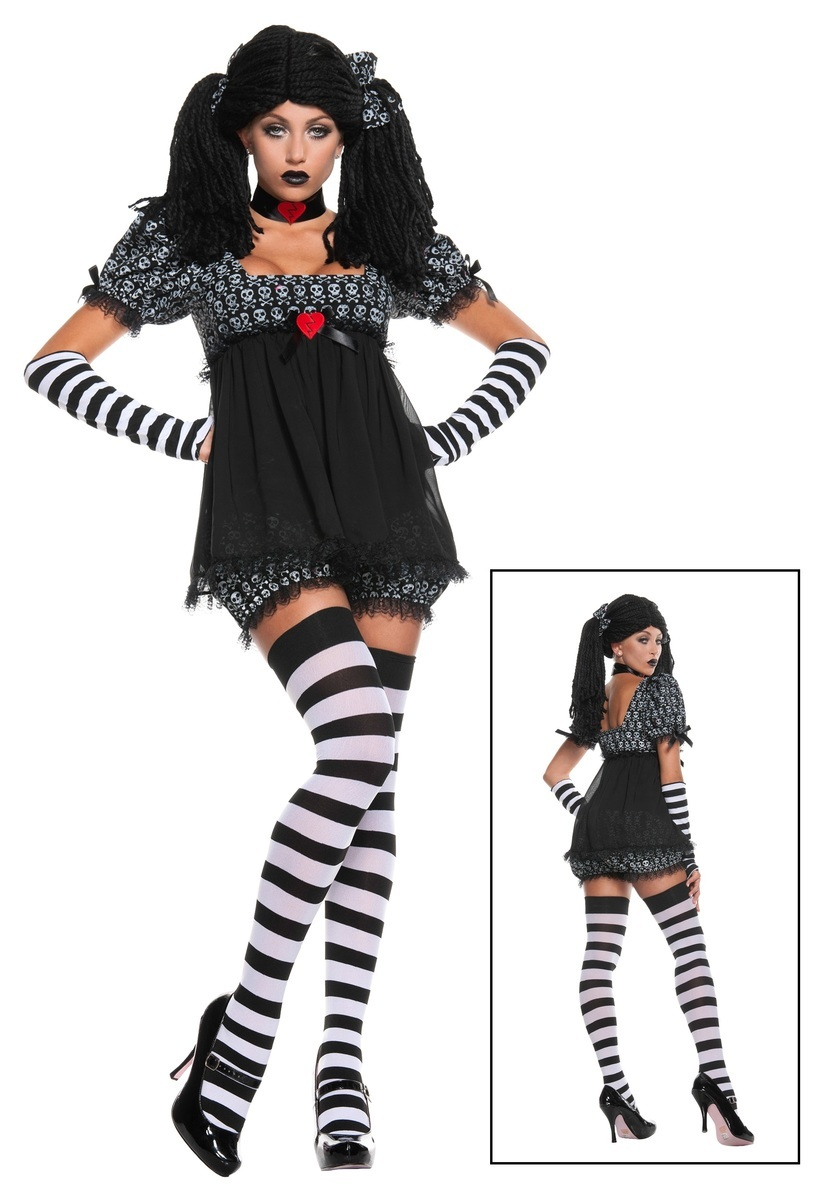EXCLUSIVE SEXY GOTHIC RAG DOLL クリスマス ハロウィン コスプレ コスチューム 仮装