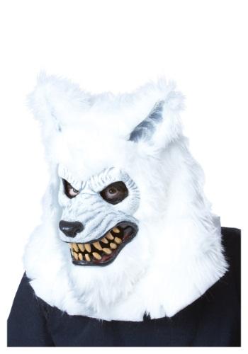 【全品P5倍】ホワイト Werewolf Ani-Motion マスク ハロウィン コスプレ 衣装 仮装 小道具 おもしろい イベント パーティ ハロウィーン 学芸会 学園祭 学芸会 ショー お遊戯会 二次会 忘年会 新年会 歓迎会 送迎会 出し物 余興 誕生日 発表会 バレンタイン ホワイトデー