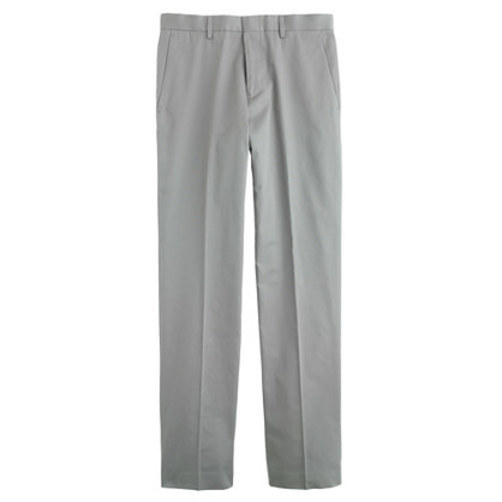 Ludlow suit pant in Italian chino anchor grey