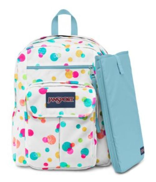 JANSPORT ジャンスポーツ バックパック リュックサック DIGITAL STUDENT PINK PANSY CONFETTI DOTS バッグ カバン