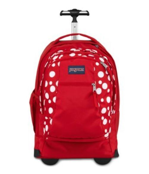 JANSPORT ジャンスポーツ バックパック リュックサック DRIVER 8 RED SYLVIA DOT バッグ カバン