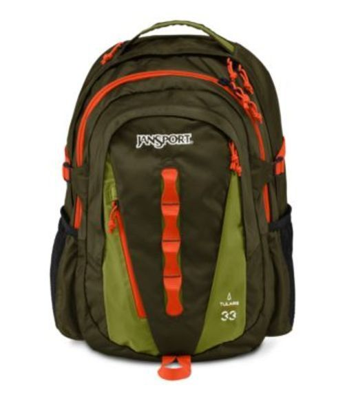 JANSPORT ジャンスポーツ バックパック リュックサック TULARE GREEN MACHINE JAMAICAN GREEN バッグ カバン