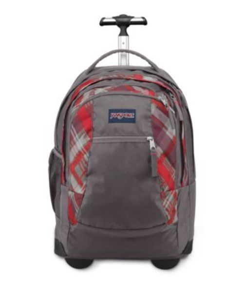JANSPORT ジャンスポーツ バックパック リュックサック DRIVER 8 CORAL DUSK SIDEWAYS PLAID バッグ カバン